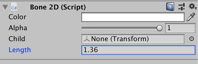 Anima2D skewed sprite, use Bone 2D length, instead of Transform scale.